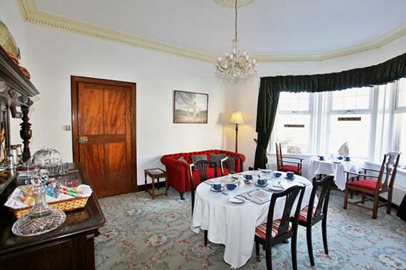 The dining room at Ardchoille Guest House (Larger)